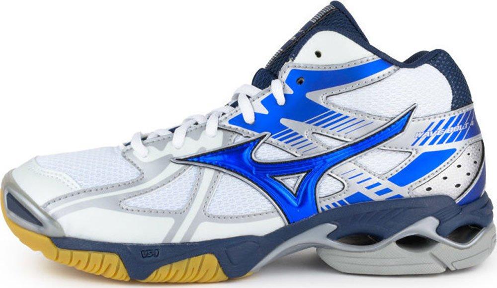 Venta Llegar A Comprar Ver Mizuno WaveBolt 4 Mid white/blue scarpa da pallavolo m (EU 44) Venta Barata 2018 Estilo De La Manera Del Descuento Precio Barato Para La Venta kmLqTqON