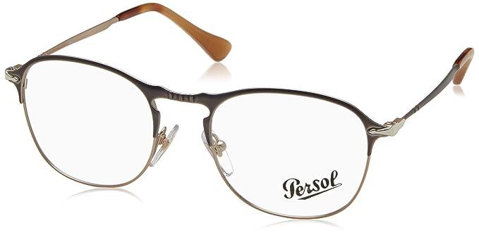 Amazon.com: Persol po7007 V 1071 Occhiale Da vista Blu azul ...