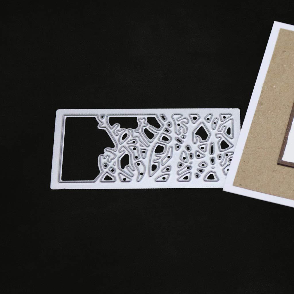 Kanersty Grass Metal Cutting Dies Stencil DIY Scrapbooking Album Stamp Paper Card Embossing Decor Craft