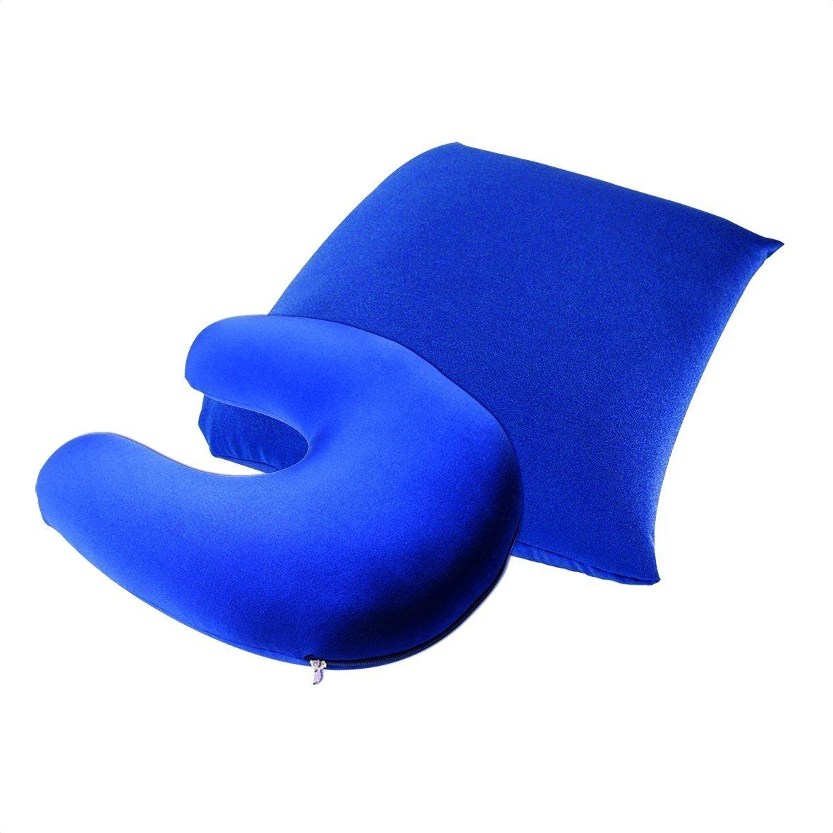 travel pillow and headrest