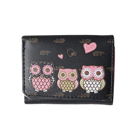 BESTOYARD Monedero Owl Clutch Mini Monedero con monedero ...