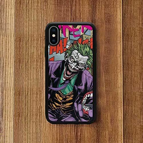 Thoasty iPhone XR Case, Cartoon Suit Killing Joker Print ...