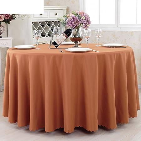Hotel sólido redondo de mantel/manteles/ el mantel/mantel/ mesa ...