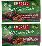 Emerald Natural Walnuts, Almonds & Dried Cherries 100 Cal Packs 2x Boxes