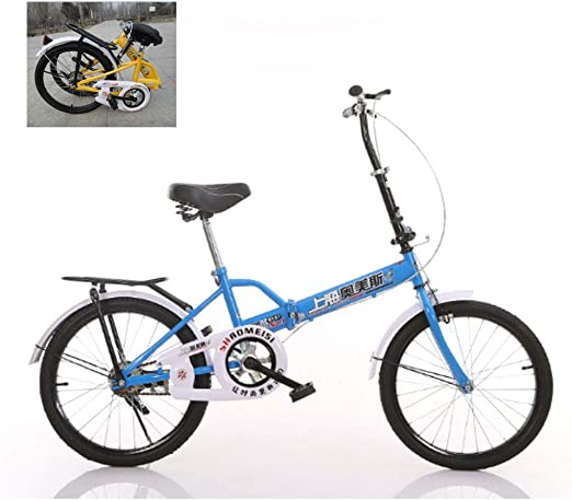 QINYUP 20 Pulgadas de la Bicicleta Plegable, de Sexo Masculino y ...