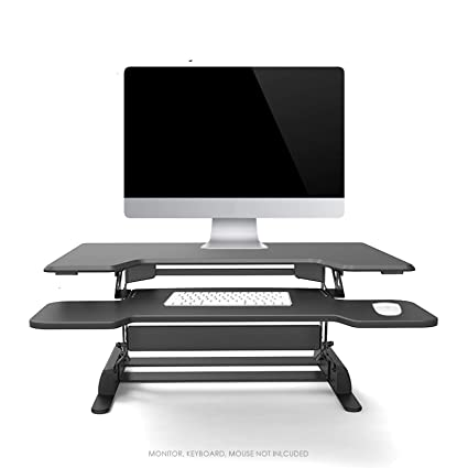 Amazon Com Logix Gear 36 Height Adjustable Standing Desk Black