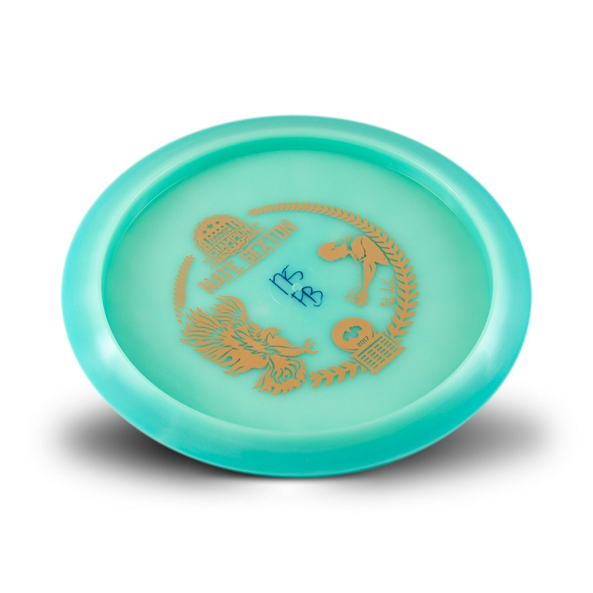 INNOVA Limited Edition Champion Glow Firebird Nate Sexton 2017 Commemorative Overstable Disc Golf Distance Driver (Color May Vary) (Gold) by INNOVA