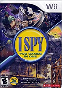 I Spy Two (Wii) Games in One (Ultimate I Spy & I Spy Spooky Mansion)