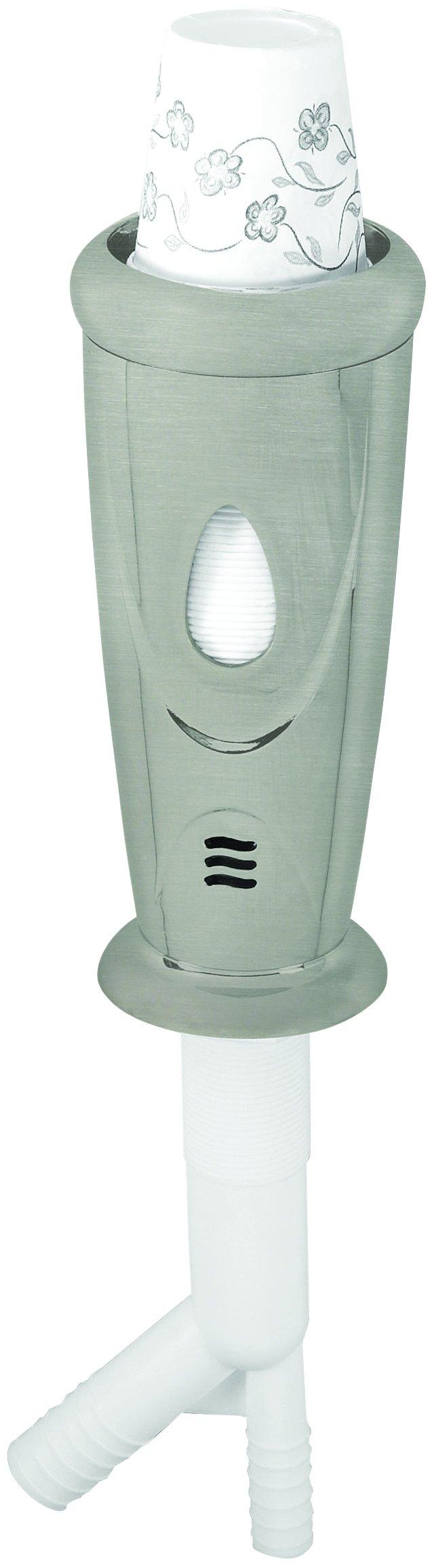 Nickel Kitchen Paper Cup Dispenser/Dishwasher Air Gap by Westbrass (Image #1)