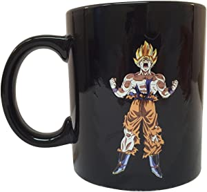 Dragon Ball Z Saiyan Goku Heat Reactive Mug