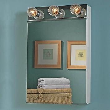 Jensen 565 Styleline II Single-Door Surface Mounted Medicine Cabinet