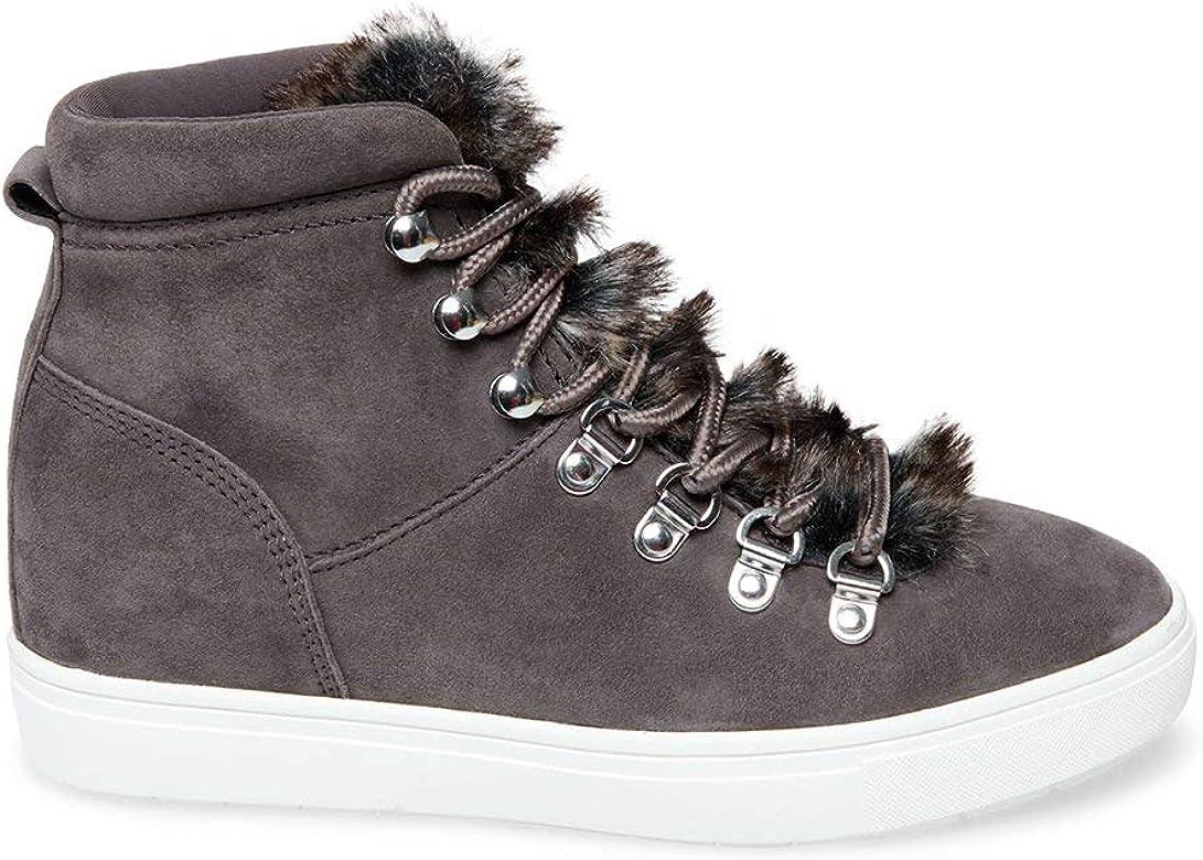 cedcf9fb81b Amazon.com | STEVEN by Steve Madden Women's Kalea-F Sneaker, Grey ...