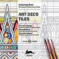 Art DecoTiles: Colouring Cards / Karten-Sets zum Ausmalen: Colouring Card Book
