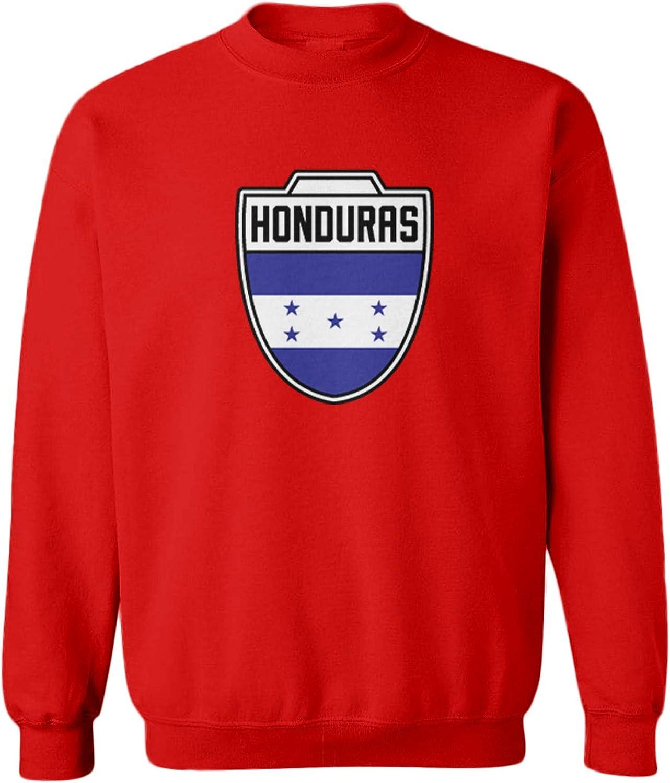 Honduras Country Soccer Crest Toddler Fleece Crewneck Sweater
