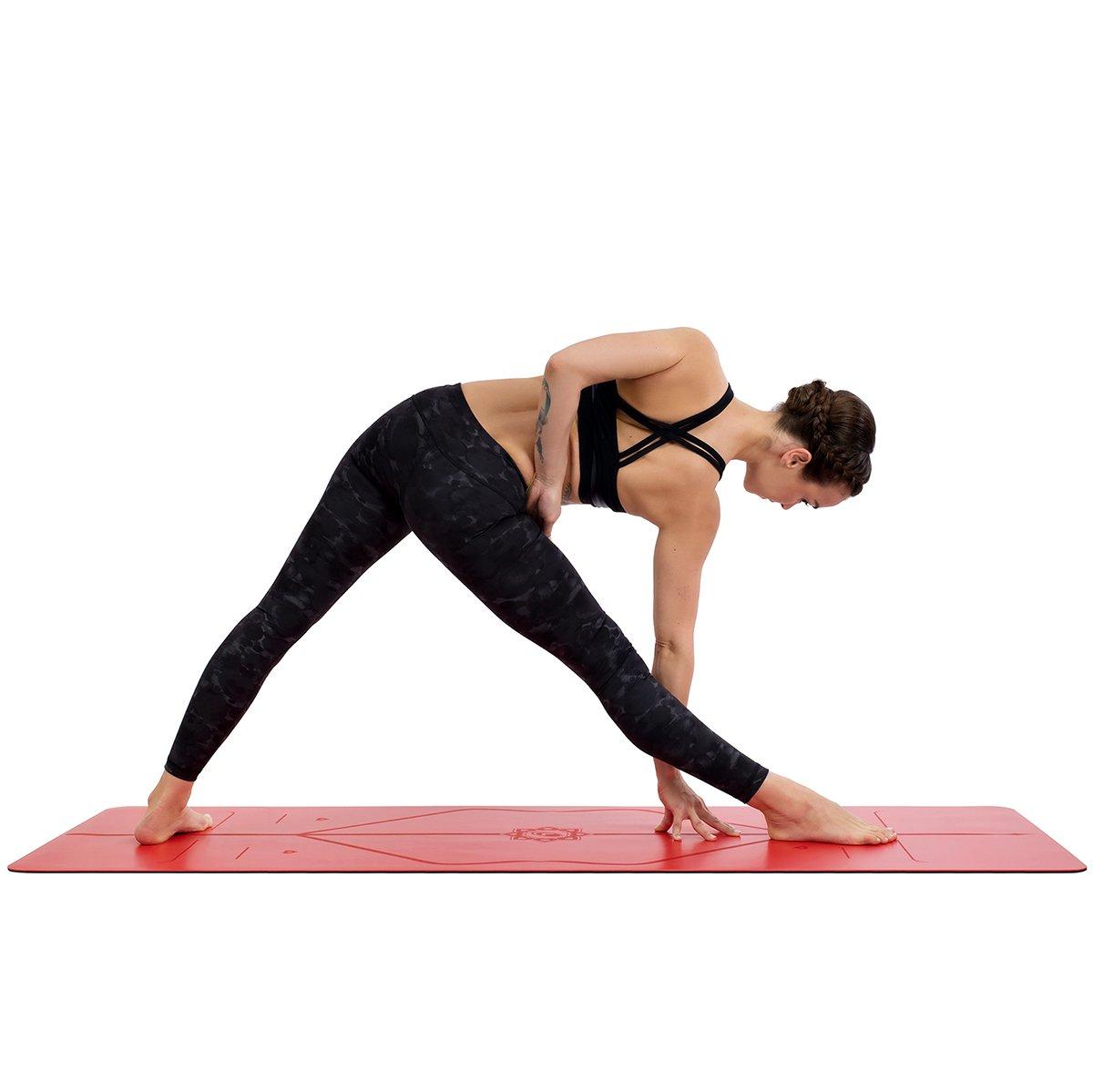 Esterilla Yoga Liforme Love Original - Mejor Alfombrilla de Yoga Antideslizante Del Mundo - Con Sistema De Alineación Original y Patentado - ...