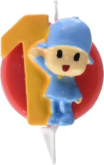Amazon.com: Pocoyo vela número 1: Toys & Games