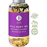 All Natural Fractionated Coconut Oil, Sweet Almond Oil, Argan Oil, Jojoba Oil, Lavender Essential Oil, Organic Lavender. Daily moisturizer for Face, Skin, Hair, Nail, Foot Beard. Pure Body Oil 4floz
