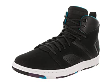 1a882bfabcda Nike Men s Air Jordan Flight Legend Black Blue Lacquer-White AA2526-005 Shoe