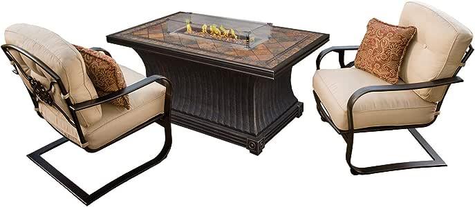 Amazon.com : CC Outdoor Living 3-Piece Slate Rectangular ... on Cc Outdoor Living id=78704