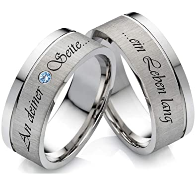Blau topas Edelstein Ring Verlobungsring Damenring Ehering  Trauring