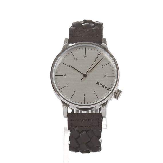 Komono Reloj - Winston Woven - Negro