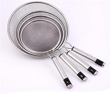 Tophacker Fuente de Cocina: Juego de 4 coladores de Acero ...