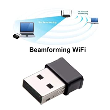 Dailyinshop Mini Adaptador WiFi USB 802.11AC Dongle Tarjeta ...