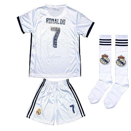 size 40 1fbe2 9f819 Buy HonestBiz Real Madrid White Kid Youth Cristiano Ronaldo ...