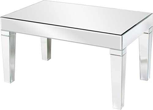 Howard Elliott Mirrored Coffee Table