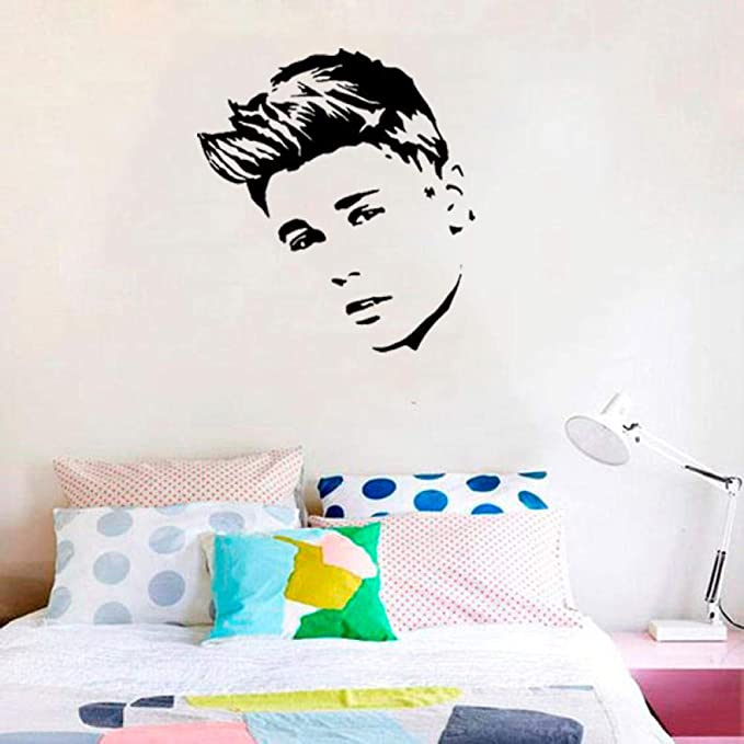 cooldeerydm Tatuajes de pared cantante pop Justin Bieber póster ...