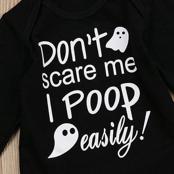 Amazon.com: Lovewe - Traje de bebé para Halloween, 3 piezas ...
