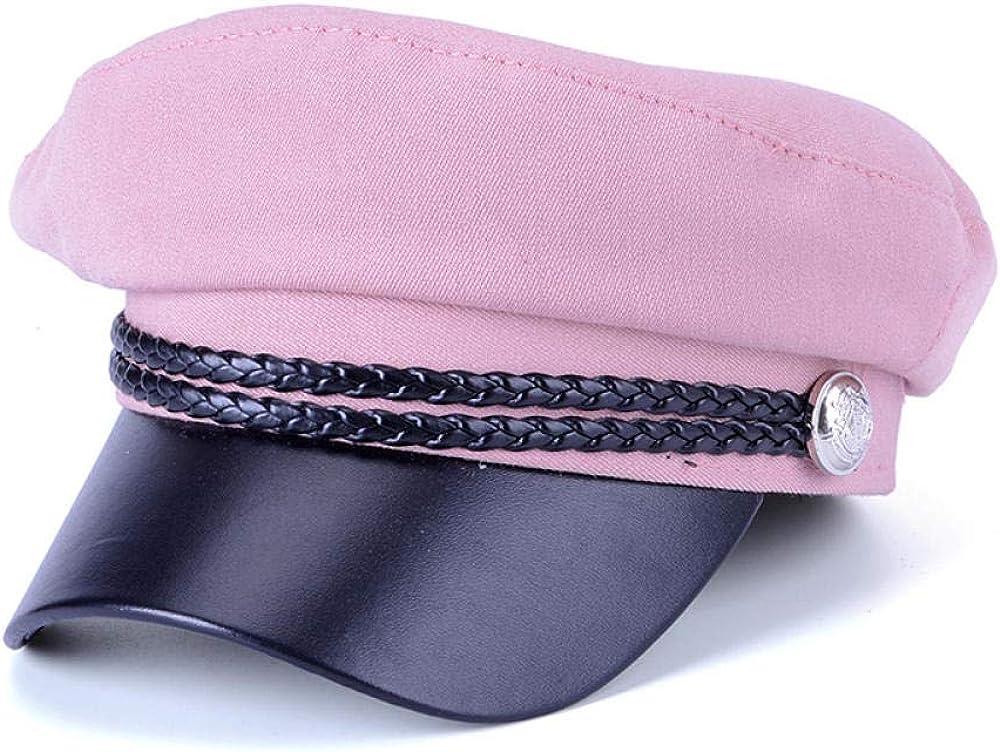 Women PU Republic Hat...