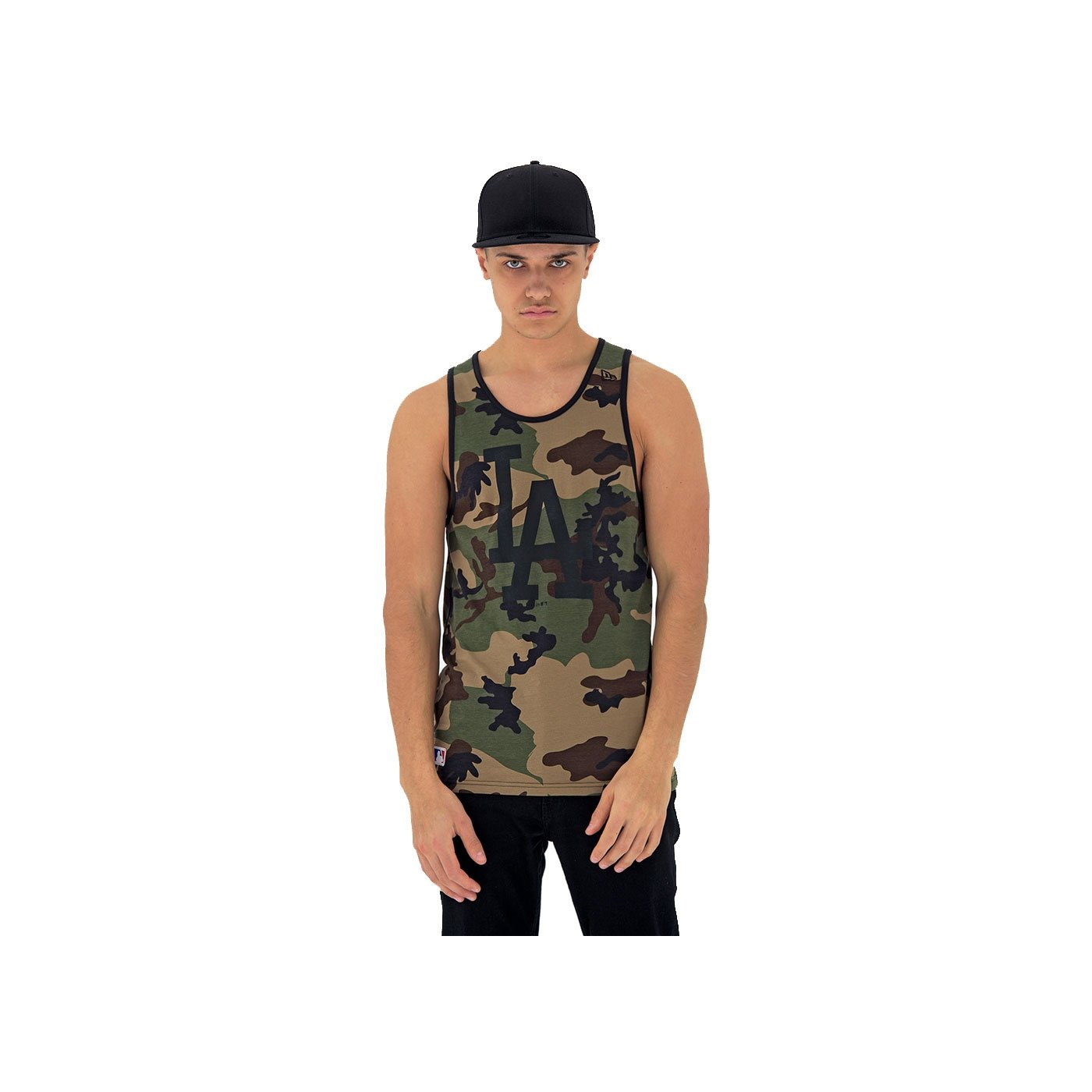 New Era Team App Logo Tank Vest
