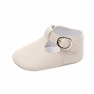 Witspace Infant Baby Girl Boy Soft Snow Boots Newborn Toddler Kids Warming Shoes (Beige, 6-12 Months): Clothing