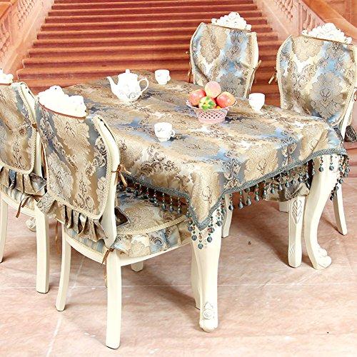 TRE [High-end European-style wallpaper]/ table cloth/Luxury Luxury fabric/ table cloth/ table cloth-A 145x180cm(57x71inch)