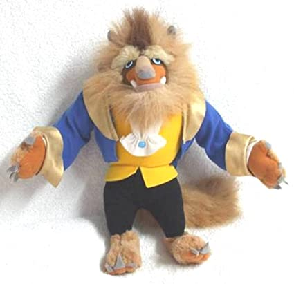 60745ee6a4d Image Unavailable. Image not available for. Color  Disney Beauty and the Beast  Plush ...