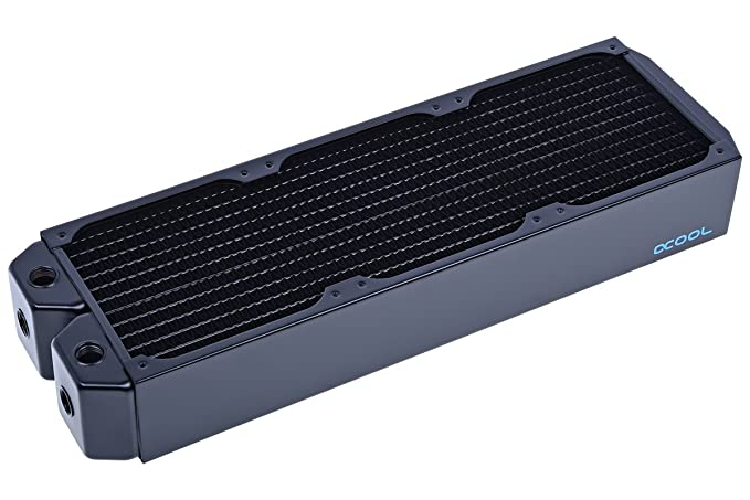 Alphacool NexXxos UT60 Full Copper Radiator 360, 120mm x 3, Triple Fan, Black