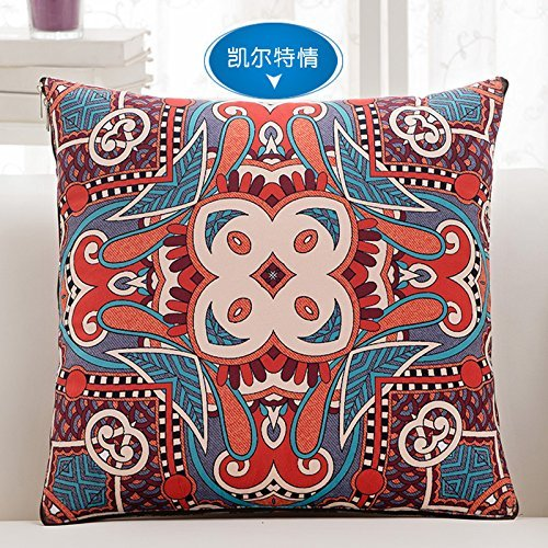 HOMEE Classical Chinese Pillow Quilt4313Automobile Air-Conditioning is Pillow Sofa Cushion Office Be Pillows ,4040, Perce Style,Celtic Love,4545