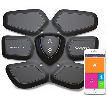... Estimulación Muscular Quema de Grasa para Abdomen Fitness Gear con Carga Pad Inalambrica App Gratis Andriod IOS: Amazon.es: Salud y cuidado personal