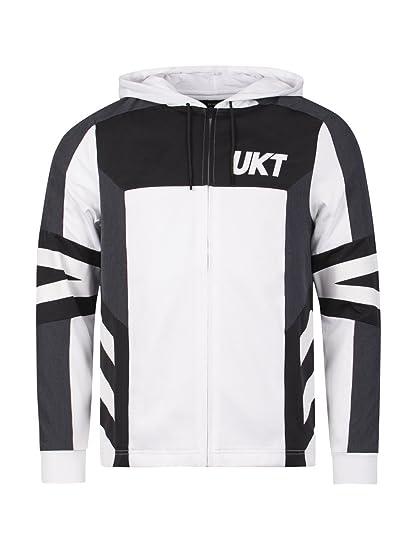 Unkut Sweat à capuche Jail Blanc  Amazon.fr  Vêtements et accessoires c824cf456a67
