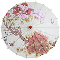 Dragonhoo Flat Lightweight Parasol Folding Sun Mini Umbrella