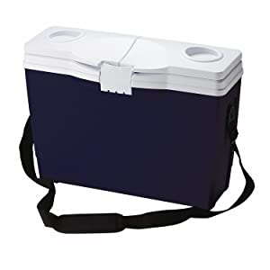 Rubbermaid Slim Cooler, 13.2 Quart, Blue FG180104MODBL