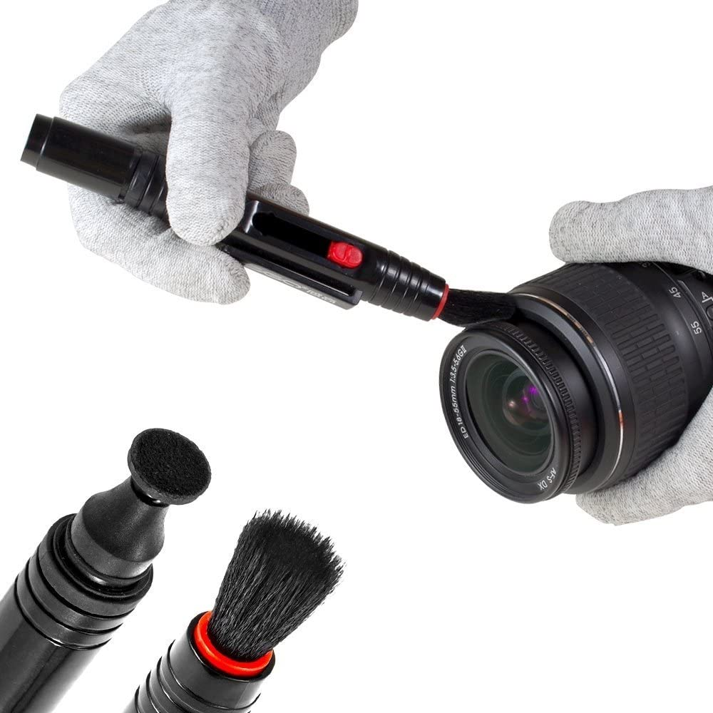 soplador de aire Lens Pen pa/ño de microfibra toallita h/úmeda pa/ño de limpieza de gamuza y botella impermeable UES VSGO DKL-15 DSL Kit de limpieza de lente de la c/ámara: limpiador de lentes