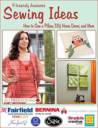 (9 Insanely Awesome Sewing Ideas: How to Sew a Pillow, DIY Home Decor, and More)
