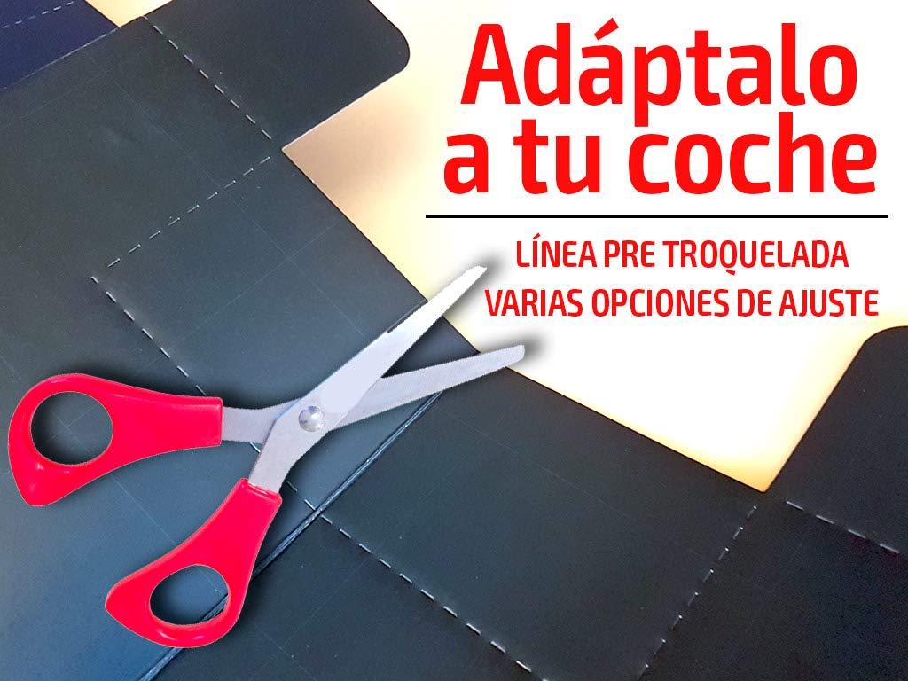 Ideitas Cartel Parasol Delantero se Vende | Parasol Coche Pizarra | Frontal + rotulador Modelo 2