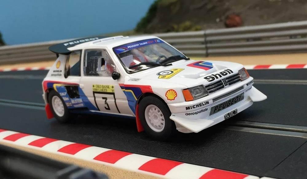 Peugeot 205 T16 Rally 1000 Lagos , nº 3. Superslot. H3751: Amazon.es: Juguetes y juegos