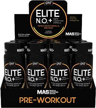 Qnt NO+ Elite Shot (12x80ml) 12 Unidades 960 g: Amazon.es ...