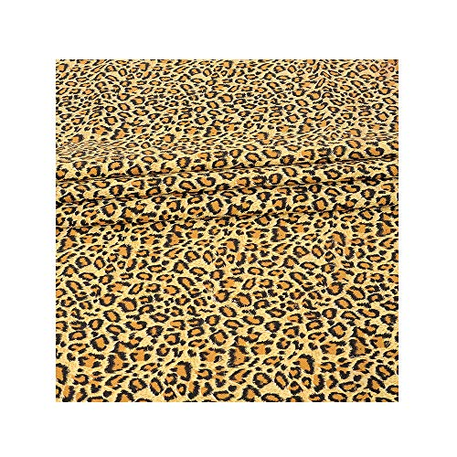 Leopard Print Decor Tablecloth Polyester Cotton Tablecloth, Animal Skin Pattern Nature Desert Life Theme Simple Stylish Illustration, Dining Kitchen Rectangular Table Cover, 59 X 78.7 inches(Leopard) -