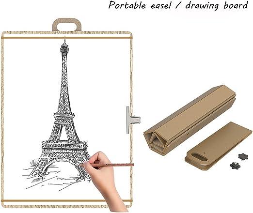 Caballete De Pintura De Mesa/Tablero Para Pintar - Portátil ...