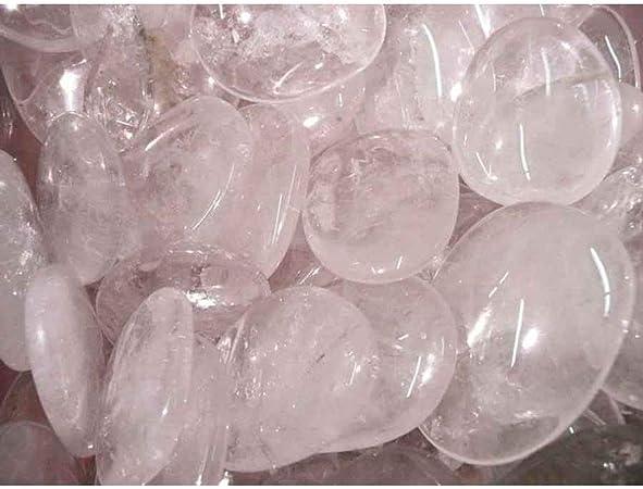 Piedra Cuarzo Blanco Plana Minerales y Cristales, Belleza energética, Meditacion, Amuletos Espirituales: Amazon.es: Hogar